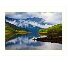 Loch Leven Reflections. North West Highlands. Scotland. Art Print
