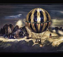The Balloon Ride by Richard  Gerhard