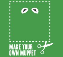 Make Your Own Muppet - Kermit by lifeye