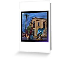 Puzzlement Greeting Card
