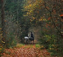 Mysterious riders crossing my path by jchanders