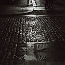 Cobbled crossing by Esther  Molin
