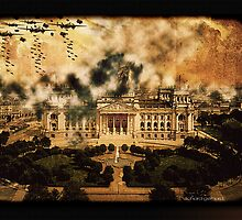 The Raid at Berlin Reichstag by Richard  Gerhard