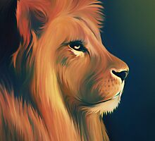 Lion by Shannon Posedenti