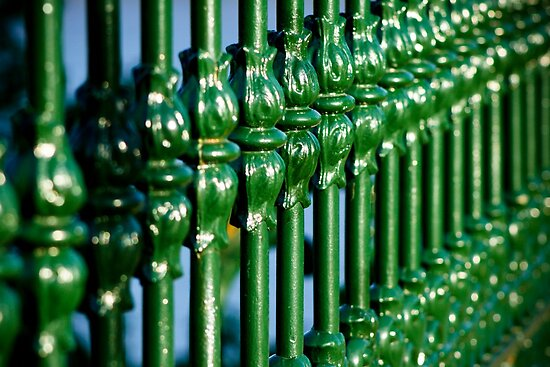 Green Gate by Hena Tayeb