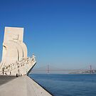 Monument to the Discoveries in Lisbon by luissantos84