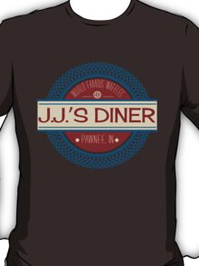 J.J.'s Diner: World Famous Waffles T-Shirt