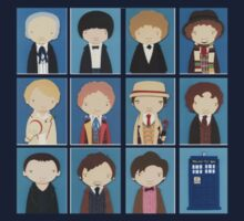 Mini Eleven Doctors by jacksontardis