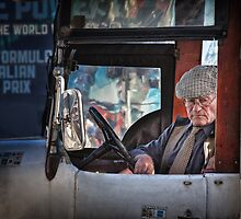 Taxi driver by Adrian Donoghue