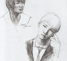 jaejoong & key by elaeye