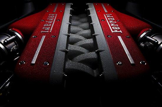 Ferrari FF Engine by supersnapper
