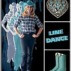 Dance series - Line Dance by Linda Lees