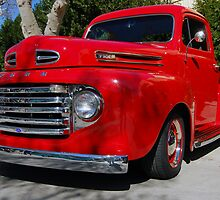 The Red Truck by WildBillPho