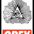 OBEY illuminati by Royal Bros Art