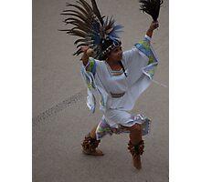 Aztec Dancer III - Bailarina Azteca Photographic Print