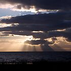 August Skies Firth Of Clyde Scotland by Stuart Kirby