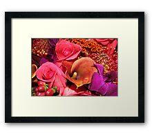 Floral Vibrance   Framed Print