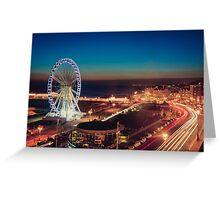Brighton CityScape at Night II Greeting Card