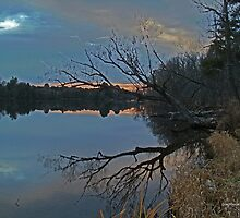 Eve on the banks of the Oswegatchie... by linmarie