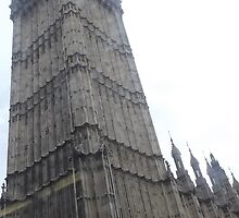 close up photo of Big Ben -(150212)- digital photo by paulramnora