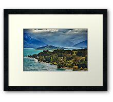 Wakitipu Blue Framed Print