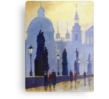 Prague Charles Bridge 03 Metal Print