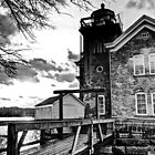 Saugerties Lighthouse by DaveOrtiz