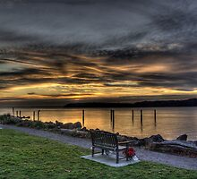 Mukilteo Sunset by Steve Walser