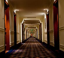 Oberoi Hallway by phil decocco