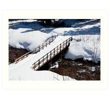 Crystal Creek Crossing Art Print