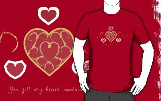 You fill my heart containers. by Rachael Thomas