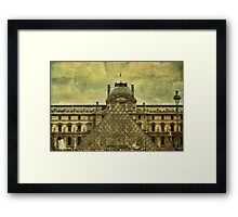 Classic Contradiction Framed Print