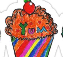Cupcakes by Grace (8) Sticker