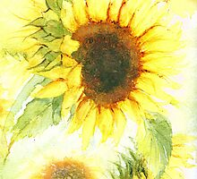 Sunflowers by Jacki Stokes