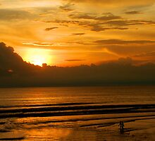 Seminyak sunset by Michael Brewer