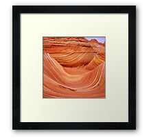 Wave Rock 2, The Coyote Buttes Framed Print