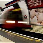 London underground by Greg Parfitt
