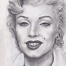 THE BLOND BOMBSHELL MARILYN MONROE !  by razar1