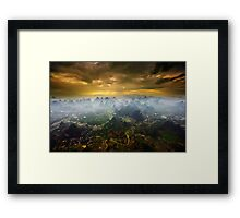 Rising With The Sun Framed Print