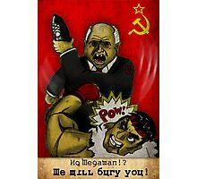 Khrushchev Vs Capcom  Photographic Print