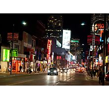 Downtown Yonge Street From North of Walton Photographic Print