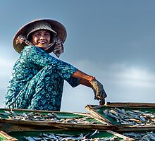 Working Woman of Vietnam by JohnKarmouche