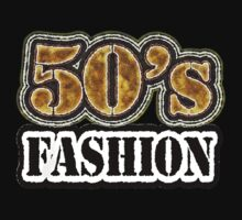 Vintage 50's Fashion - T-Shirt by Nhan Ngo