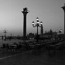 Rows of Empty  by Alfredo Estrella