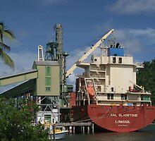 Sugar Boat Loading by STHogan