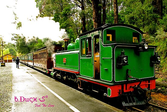 """The """"true"""" Puffing Billy by BabyDuck"""