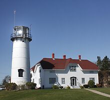 Nobska Lighthouse,  Cape Cod, Massachucetts, USA .... by AnnDixon