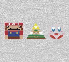 Basic Nintendo Heroes Kids Clothes