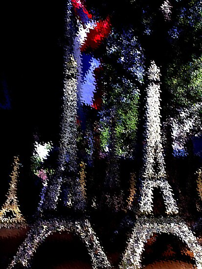 Eiffel towers by Christophe Claudel
