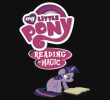 My little pony, reading is magic by kidomaga